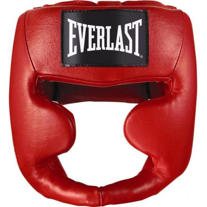 Боксерский шлем Everlast MMA Leather Full Face р. L/XL